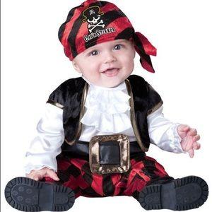 Halloween Baby Pirate Costume